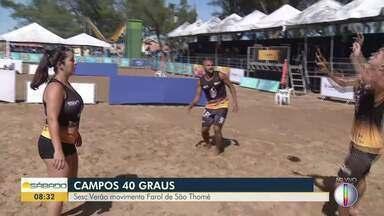 Sesc Verão movimenta Farol de São Thomé, em Campos dos Goytacazes - Evento conta com programação diversificada para agradar todo tipo de público.