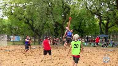 Copa Porto Alegre Handebol de areia acontece no Parque Marinha - Conheça as regras da modalidade.