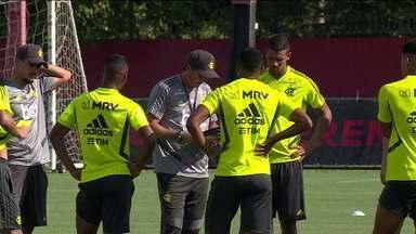 Flamengo vai começar o Carioca com muitos garotos da base - Flamengo vai começar o Carioca com muitos garotos da base