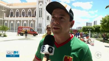 Globo Esporte foi transmitido ao Vivo da Praça Dom Malan em Petrolina - undefined
