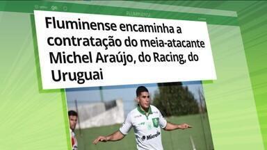 Fluminense estreia domingo no Carioca e confirma interesse em Michel Araújo, do Racing - Fluminense estreia domingo no Carioca e confirma interesse em Michel Araújo, do Racing