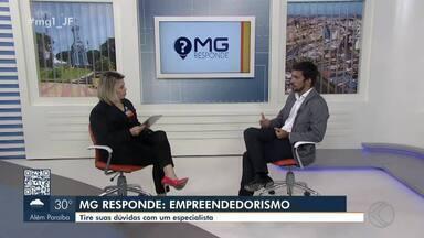 MG Responde: analista de Juiz de Fora fala sobre empreendedorismo - MG1 exibe discussões sobre capacidade de identificar problemas e oportunidades e desenvolver soluções.