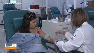 Doações de sangue têm queda de 20% neste período de verão - Uma das explicações, é que as pessoas viajam e deixam de doar sangue.