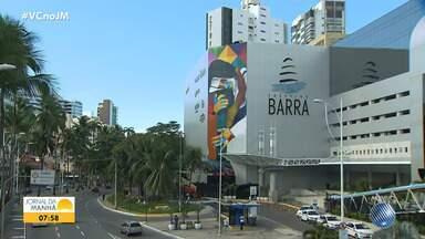 Carnaval: Moradores dos circuitos podem fazer a solicitação das credenciais em shopping - Shopping Barra está disponível para receber os moradores.