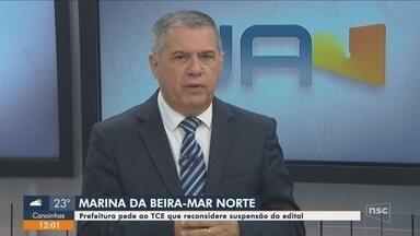Prefeitura pede ao TCE que reconsidere decisão sobre Marina da Beira-mar em Florianópolis - Prefeitura pede ao TCE que reconsidere decisão sobre Marina da Beira-mar em Florianópolis