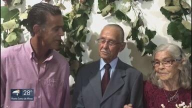 Casal comemora 70 anos de casados em Pouso Alegre (MG) - Casal comemora 70 anos de casados em Pouso Alegre (MG)