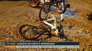 Homem é atropelado momentos depois de furtar bicicleta - Esse caso aconteceu na BR-376, em Ponta Grossa.