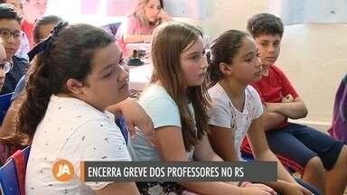 Professores estaduais encerram greve após 57 dias de paralisação - Em Caxias do Sul, doze escolas ainda não concluíram o ano letivo.