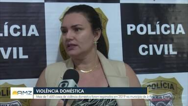 Casos de violência doméstica aumentam em Ji-Paraná - Delegacia fez levantamento e comparou 2018 com 2019.