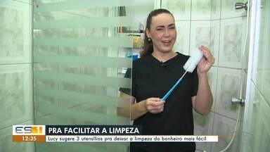 A dica é: Lucy ensina como facilitar a limpeza do banheiro - undefined