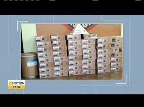 Vereador de Itaobim é preso por receptação de produtos roubados - A PM identificou que os produtos eram semelhantes a uma carga roubada em dezembro do ano passado conforme boletim de ocorrência feito pela Polícia Rodoviária Federal.