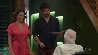 Alberto é recebido com muita alegria na Prado Monteiro - undefined