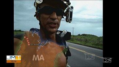 Aventureiro volta ao Maranhão após oito anos longe do estado - O que ele começou a fazer a partir de outubro de 2019, já mereceu um novo destaque no Esporte 10.