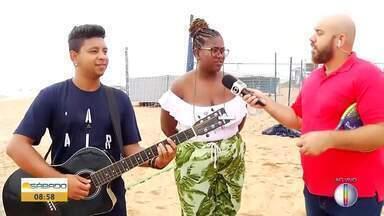 Talentos locais e nacionais agitam Sesc Verão 2020 em Rio das Ostras - Bom Dia Sábado mostra tudo o que vai rolar na programação deste sábado.