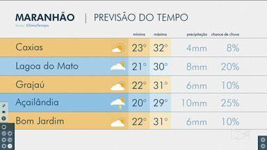 Veja a previsão do tempo no Maranhão - Confira como deve ficar o tempo e a temperatura em São Luís e no Maranhão.