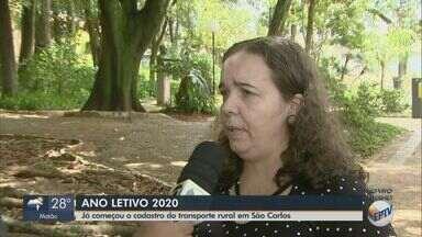 Alunos que moram na zona rural de São Carlos podem se inscrever para transporte escolar - O cadastro deve ser feito antes do início do ano letivo, previsto para 10 de fevereiro.
