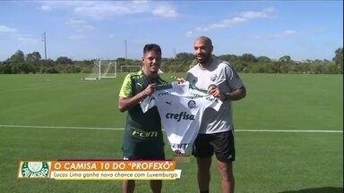 Lucas Lima ganha nova chance no Palmeiras - Lucas Lima ganha nova chance no Palmeiras