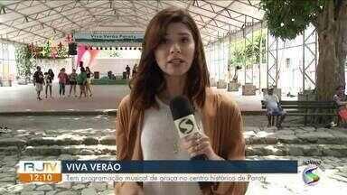 'Viva verão' traz programação musical gratuita a Paraty - Shows acontecerão todos os finais de semana do mês de janeiro na Praça da Matriz, no Centro da cidade.