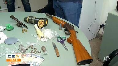 No Crato, polícia prende homem acusado de efetuar disparos de arma de fogo em via pública - Saiba mais em g1.com.br/ce