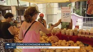 Nutricionista dá dicas para armazenar frutas e legumes - Economista falou sobre o preço dos alimentos