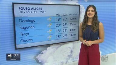 Confira a previsão do tempo para este domingo (19) no Sul de Minas - Confira a previsão do tempo para este domingo (19) no Sul de Minas