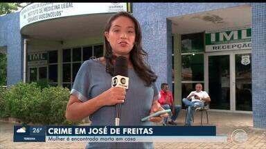 Mulher é encontrada morta dentro de casa em José de Freitas - Mulher é encontrada morta dentro de casa em José de Freitas