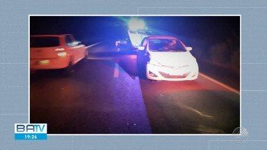 Motorista é preso após ser flagrado dormindo ao volante e embriagado no extremo sul - Caso ocorreu no trecho da BR-101 de Teixeira de Freitas.