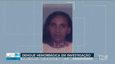 Órgão investiga suspeita de morte por dengue hemorrágica em São Luís - Está sendo investigada, na capital maranhense, o caso de uma mulher que morreu por um suposto caso de dengue hemorrágica.