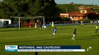 Barbalha chega motivado para enfrentar Caucaia pelo Estadual - Confira mais notícias em g1.globo.com/ce