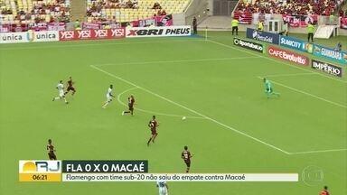 Times cariocas se enfrentam na primeira rodada da Taça Guanabara - Foram apenas seis gols no fim de semana