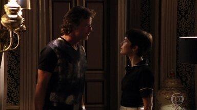 Max se despede de Nina e agradece - Ivana implora que o marido não a abandone