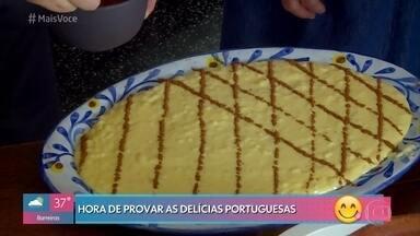 Ana Maria Braga aprende receita portuguesa - Veja o passo a passo do 'Arroz Doce Português'