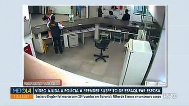 Vídeo ajudou polícia a desvendar assassinato de Jaciara - Imagens contradizem primeira versão dada pelo suspeito.