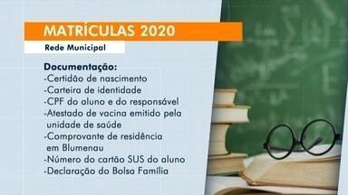 Segundo período de matrículas das escolas municipais começa em 27 de janeiro - Segundo período de matrículas das escolas municipais começa em 27 de janeiro