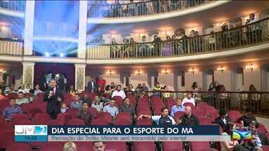 Premiação do Troféu Mirante Esporte acontece em São Luís - JM2 acompanha ao vivo os bastidores da maior premiação do esporte maranhense.