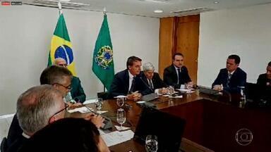 Bolsonaro admite que pode recriar o Ministério da Segurança Pública - Nos bastidores, Sergio Moro parece ter sido pego de surpresa com a possibilidade de ter o seu ministério dividido em dois.