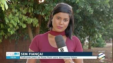 Traficante preso em Ponta Porã usava documentos falsos - Traficante preso em Ponta Porã usava documentos falsos