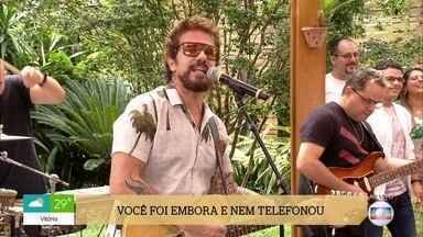 Tuca Fernandes canta 'Ê Saudade' - Confira