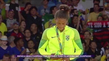 Rafaela Silva é suspensa por doping e pode ficar fora da Olimpíada de Tóquio - Rafaela Silva é suspensa por doping e pode ficar fora da Olimpíada de Tóquio