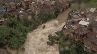 Previsão de chuvas para fevereiro no Sudeste é preocupante; entenda - Formação de um sistema meteorológico causou uma das chuvas mais intensas dos últimos 110 anos em Belo Horizonte. Previsão diz que chuvas continuam no próximo mês.
