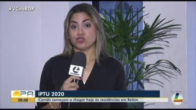 Carnês do IPTU 2020 começam a chegar em casas de moradores de Belém - Carnês do IPTU 2020 começam a chegar em casas de moradores de Belém