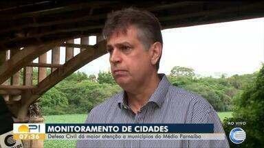 Defesa Civil prioriza o monitoramento a municípios do Médio Parnaíba - Defesa Civil prioriza o monitoramento a municípios do Médio Parnaíba