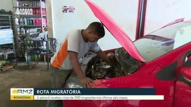 Ji-Paraná recebeu mais de 200 imigrantes nos últimos seis meses - Ji-Paraná recebeu mais de 200 imigrantes nos últimos seis meses