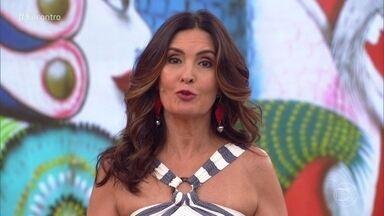 Fátima Bernardes manda recado para Ana Maria Braga - Ana Maria revelou início do tratamento contra um novo câncer de pulmão