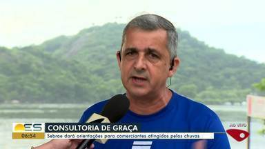 Sebrae dará orientações para comerciantes atingidos pelas chuvas no ES - Em Iconha, por exemplo, todo o comércio foi atingido.