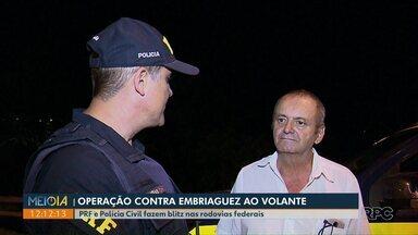 Polícia flagra 81 motoristas embriagados durante operação no Paraná - PRF e Polícia Civil fizeram blitz nas rodovias federais no fim de semana.