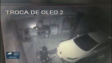 Ladrões tentam explodir cofre de posto de combustível em Ribeirão Preto - Grupo fugiu sem conseguir furtar dinheiro do local na Avenida Patriarca.