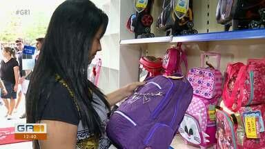Alguns cuidados precisam ser tomados na escolha da mochila das crianças - É preciso observar detalhes como altura e peso da criança pra preservar a saúde dela.