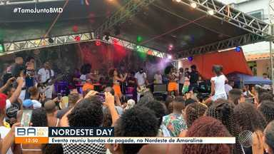 Nona edição de festival de música do bairro de Amaralina reúne bandas de pagode locais - A festa 'Nordeste Day' foi realizada no domingo (26).