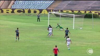 River-PI fica no empate com o Piauí no Albertão, pela segunda rodada do estadual - River-PI fica no empate com o Piauí no Albertão